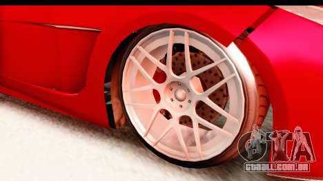 GTA 5 Ocelot Lynx IVF para GTA San Andreas vista traseira