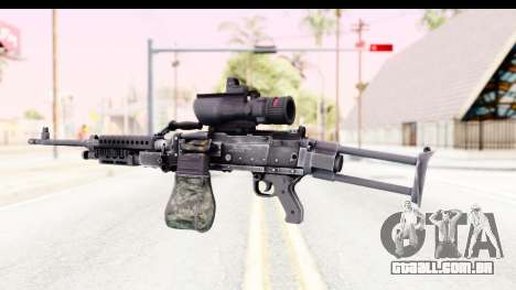 M240 FSK No Bipod para GTA San Andreas segunda tela