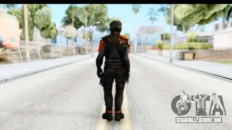 Homefront The Revolution - KPA v4 Black para GTA San Andreas terceira tela