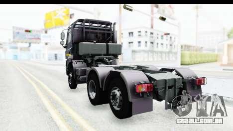 Tatra Phoenix 6x2 Agro Truck v1.0 para GTA San Andreas traseira esquerda vista