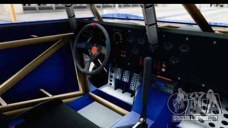 GTA 5 Trophy Truck IVF PJ para GTA San Andreas vista interior