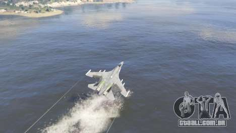 GTA 5 Su-30МКК HQ Chinês quinta imagem de tela
