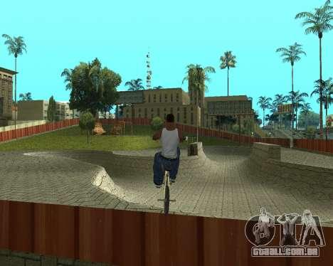 New HD Glen Park para GTA San Andreas segunda tela