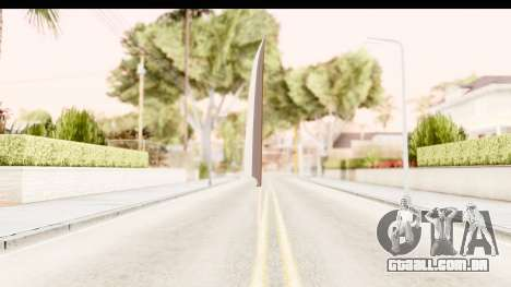 Bleach - Ichigo Weapon para GTA San Andreas terceira tela