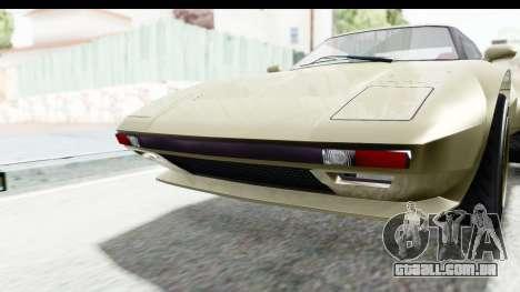 GTA 5 Lampadati Tropos Rallye IVF para GTA San Andreas vista superior