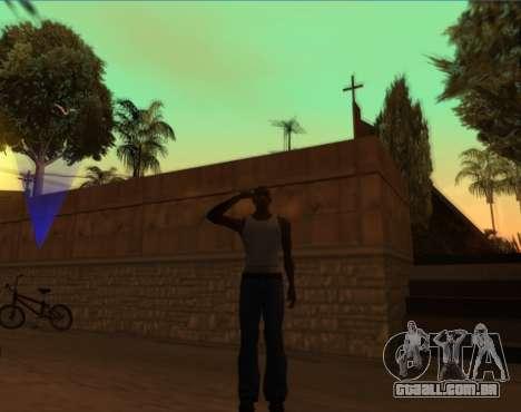 Saudação para GTA San Andreas terceira tela
