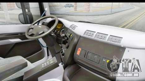 Tatra Phoenix 6x2 Agro Truck v1.0 para GTA San Andreas vista interior