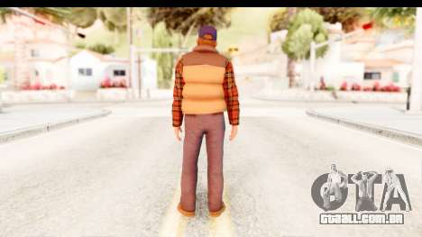 Silent Hill Homecoming - Travis para GTA San Andreas terceira tela