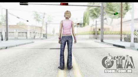 Silent Hill 3 - Heather Sporty Light Pink HK para GTA San Andreas terceira tela
