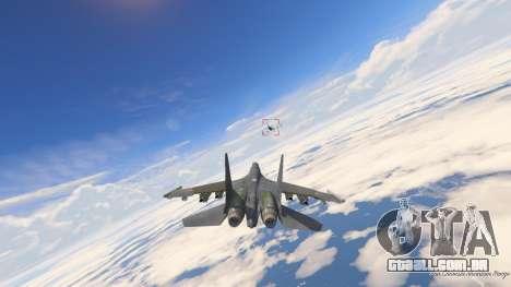 GTA 5 Su-30МКК HQ Chinês sétima screenshot