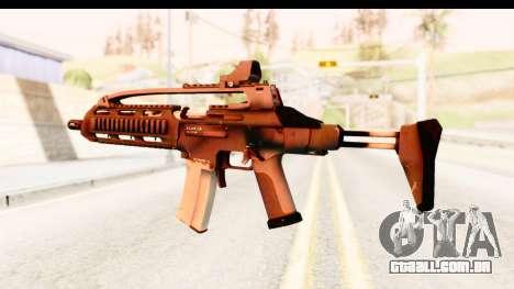 SCAR-LK para GTA San Andreas terceira tela