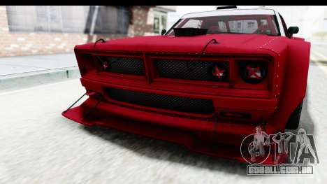 GTA 5 Declasse Drift Tampa IVF para GTA San Andreas vista inferior