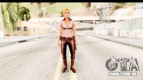 Silent Hill Shattered Memories - Cybil para GTA San Andreas segunda tela