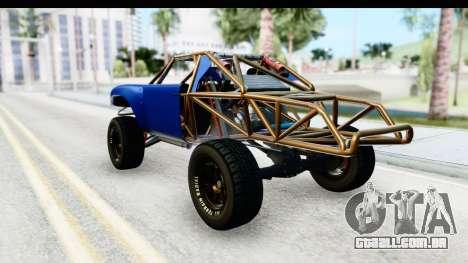 GTA 5 Trophy Truck IVF PJ para GTA San Andreas traseira esquerda vista