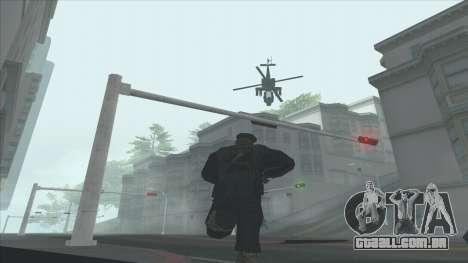 WantedLevel para GTA San Andreas quinto tela