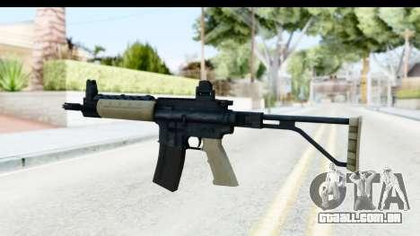 LR-300 Tan para GTA San Andreas segunda tela