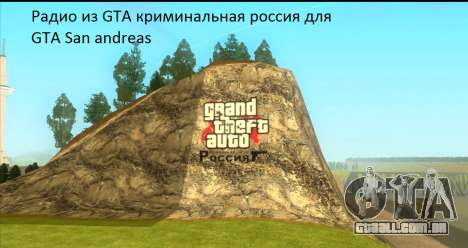 Rádio do GTA Penal Rússia para GTA San Andreas