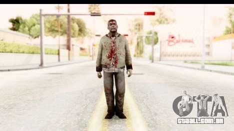 Left 4 Dead 2 - Zombie Rural para GTA San Andreas segunda tela
