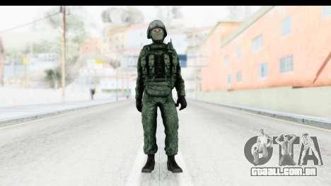 Global Warfare Russia para GTA San Andreas segunda tela