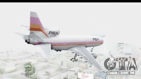 Lockheed L-1011-100 TriStar Pacific Southwest para GTA San Andreas vista direita