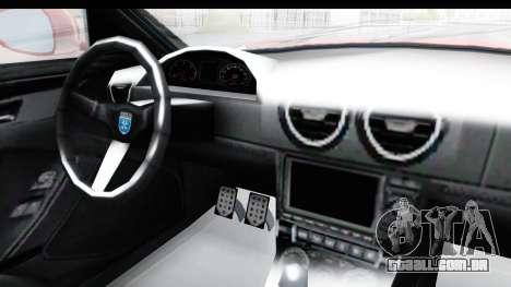 GTA 5 Grotti Bestia GTS with MipMap IVF para GTA San Andreas vista interior