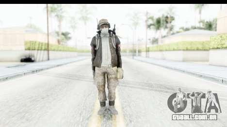 The Division Last Man Battalion - Engineer para GTA San Andreas segunda tela