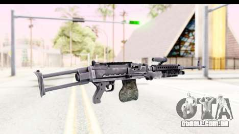 M240 FSK No Attachments para GTA San Andreas segunda tela