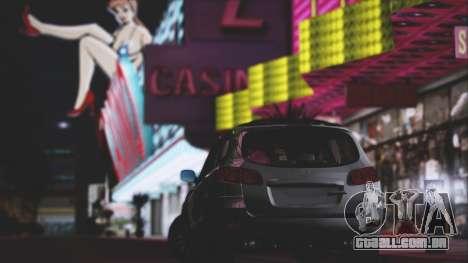 Hyundai Santa Fe Stock para GTA San Andreas vista interior