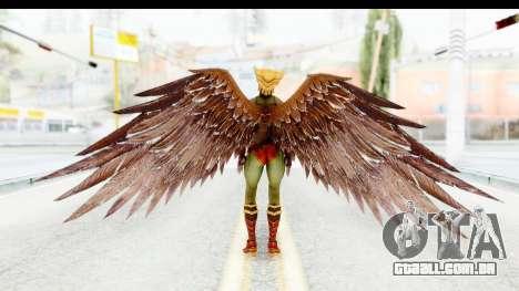 Injustice God Among Us - Hawk Girl para GTA San Andreas terceira tela