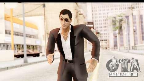Yakuza 0 Goro Majima para GTA San Andreas