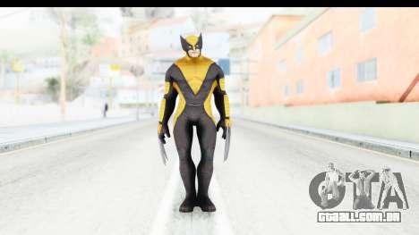 Marvel Heroes - Wolverine All New Marvel Now para GTA San Andreas segunda tela