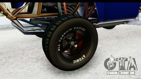 GTA 5 Trophy Truck IVF PJ para GTA San Andreas vista traseira