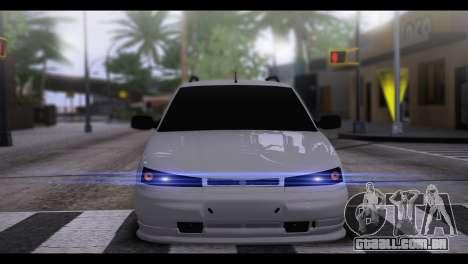 VAZ 2111 BPAN para GTA San Andreas traseira esquerda vista