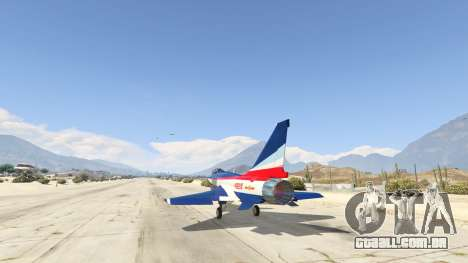 GTA 5 J-10A SY Aerobatic Team terceiro screenshot