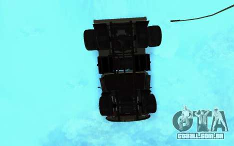 ZIL-130 Arménia para GTA San Andreas vista superior