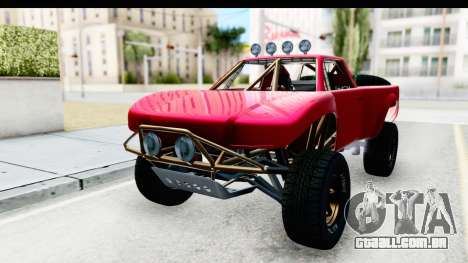 GTA 5 Trophy Truck SA Lights para GTA San Andreas