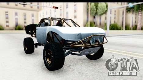GTA 5 Trophy Truck SA Lights PJ para GTA San Andreas