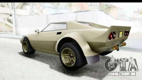 GTA 5 Lampadati Tropos Rallye IVF para GTA San Andreas vista direita