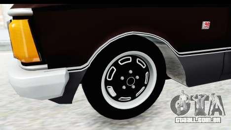 Ford Falcon Sprint para GTA San Andreas vista traseira