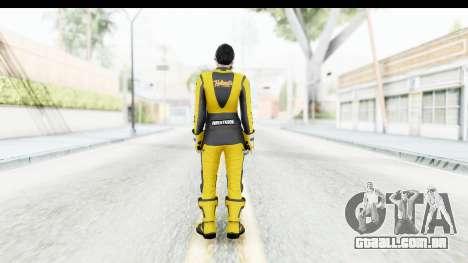 GTA 5 DLC Cunning Stuns Female Skin para GTA San Andreas terceira tela