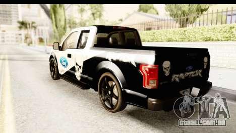 Ford F-150 Tuning para GTA San Andreas esquerda vista