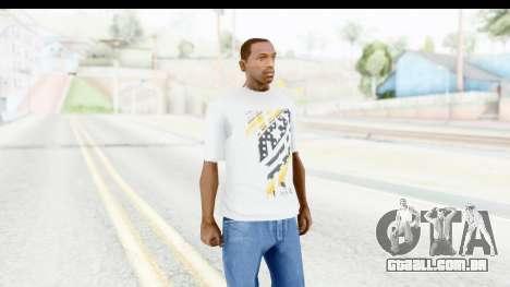 Nike Kyrie Notebook T-Shirt para GTA San Andreas segunda tela
