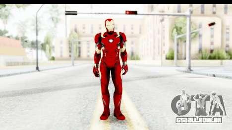 Marvel Heroes - Ironman Mk46 para GTA San Andreas segunda tela
