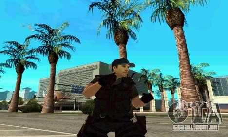 Instrutor da SWAT para GTA San Andreas quinto tela