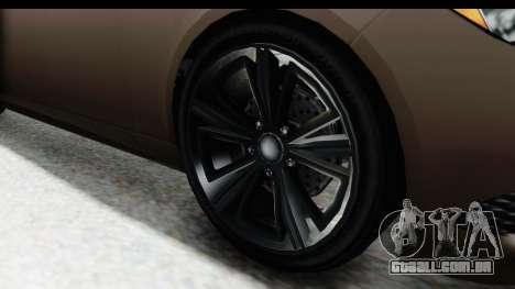 GTA 5 Ubermacht Oracle II SA Style para GTA San Andreas vista traseira