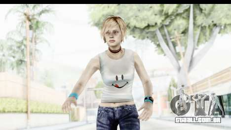 Silent Hill 3 - Heather Sporty White Delicious para GTA San Andreas