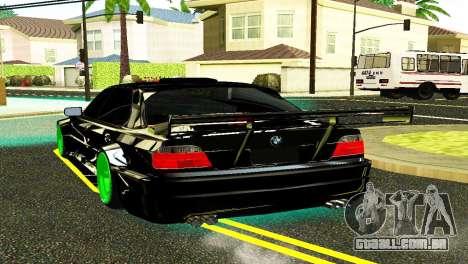 BMW 750 E38 Hamann Turbo Sports para GTA San Andreas esquerda vista