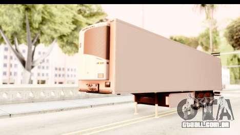 Trailer ETS2 v2 New Skin 1 para GTA San Andreas vista direita