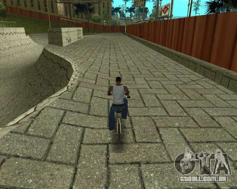 New HD Glen Park para GTA San Andreas quinto tela