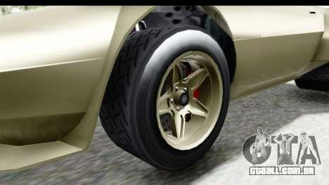 GTA 5 Lampadati Tropos Rallye IVF para GTA San Andreas vista traseira